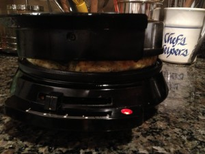 Waffle Omelet: The Amazing 8-Minute Meal