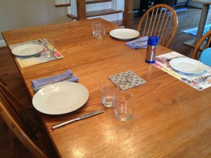 The Truth About Family Dinners: What it looks like in our house and simple guidelines that helped to make it better
