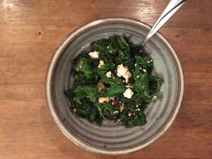 Wilted Kale Salad: A Cure for the Winter Blues