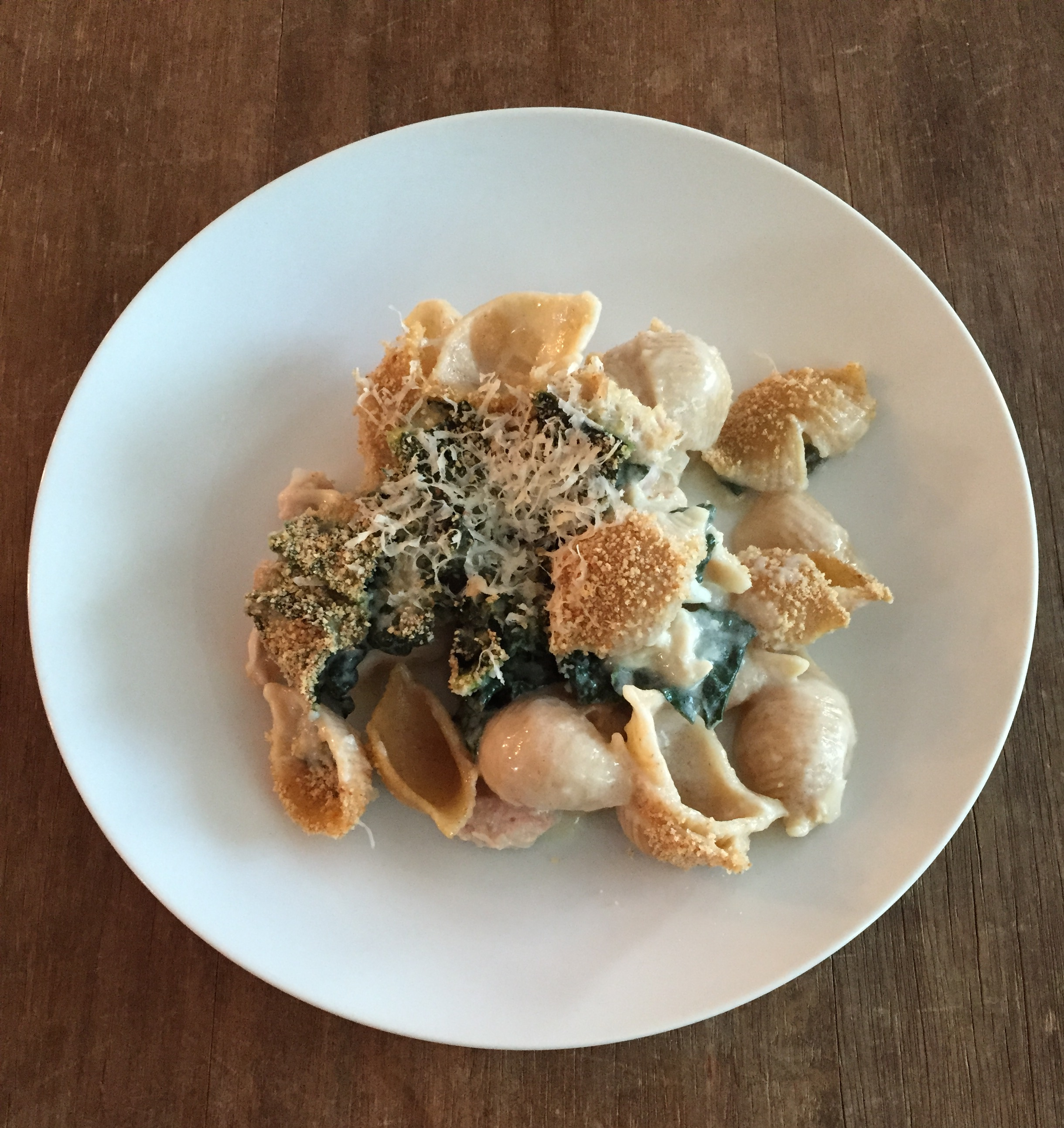 Chicken and Kale Noodle Casserole