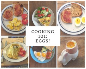 Cooking 101: Eggs!