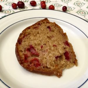 Cranberry Yogurt Cake with Maple Glaze: A Simple Dessert for the Holiday Season