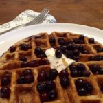 Wild Blurry Oatmeal Waffles