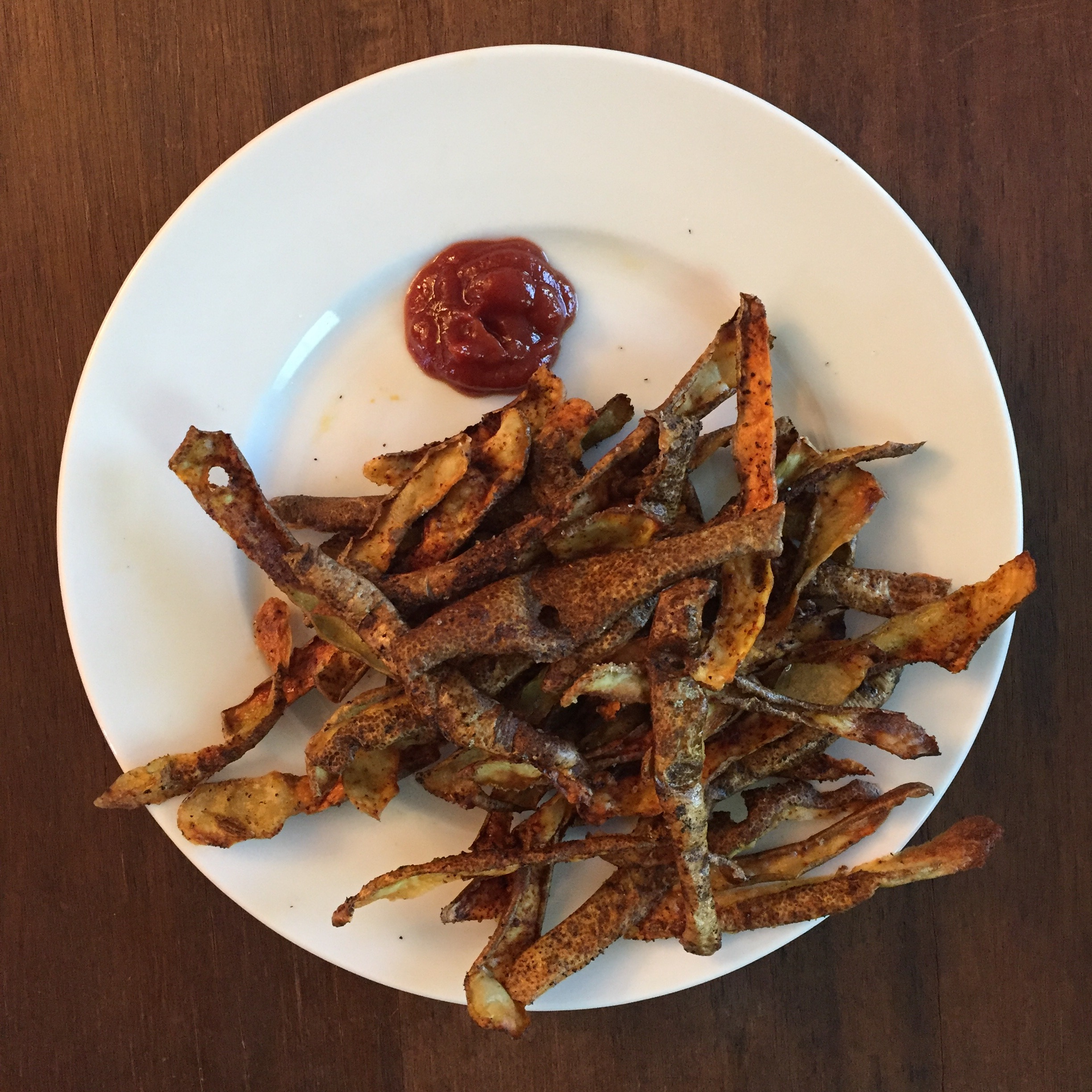 Potato Skin Crisps and 4 Easy Ways to Reduce Food Waste
